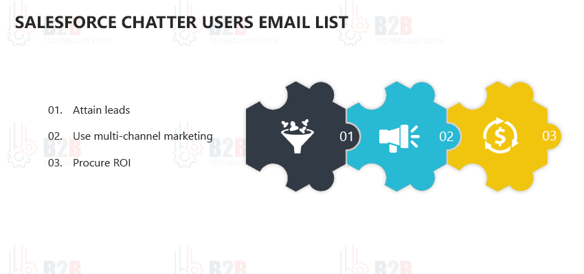 Salesforce Chatter Users Email List