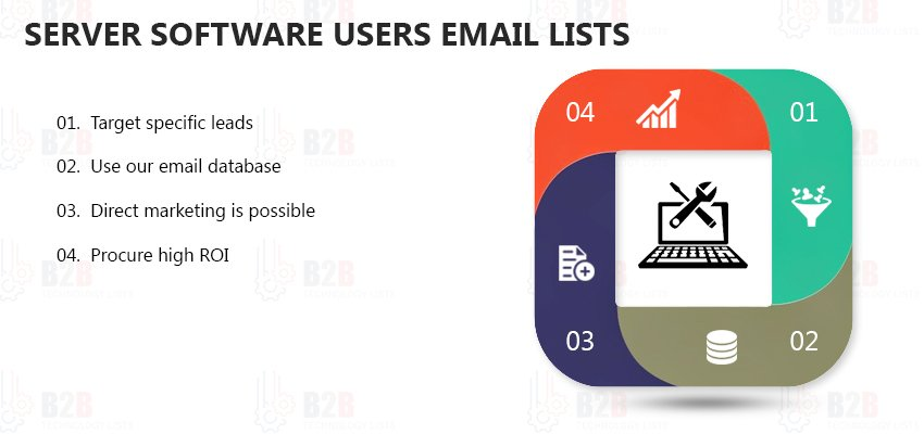 Server Software Users Email Lists